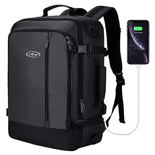 G4Free Leichter Fluggeprüfter Handgepäckrucksack Sporttasche Reisetasche Rucksack für Reise Wandern