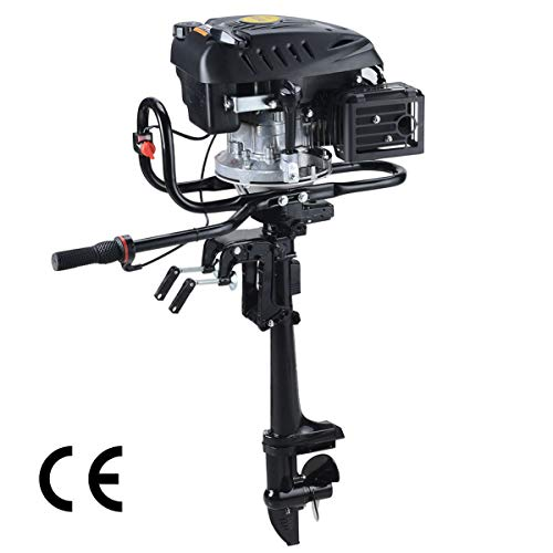 Affordable Superior Engine air-Cooled System Outboard Motor 4-strok Inflatable Fishing Boat