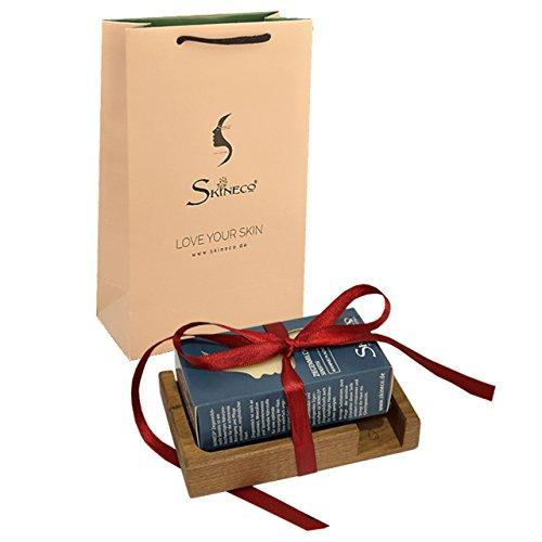 Nature Savon Kit de démarrage – Savon, porte-savon en bois
