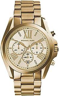 Michael Kors Women's Chronograph Quartz Watch CHAMPAGNE MK5605