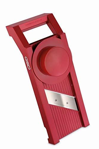 G S D Haushaltsgeräte 30011 G S D Universal 30 011 Gemüsehobel, Kunststoff, rot