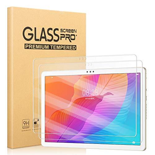 [2 Pezzi] Pellicola Protettiva per Tablet Huawei Matepad T10 2020 / Huawei MatePad T10S Pellicola salvaschermo in Vetro temperato HD Chiaro [Anti-Graffo/Impronta] per Huawei T 10 T10S (10.1 Pollici)