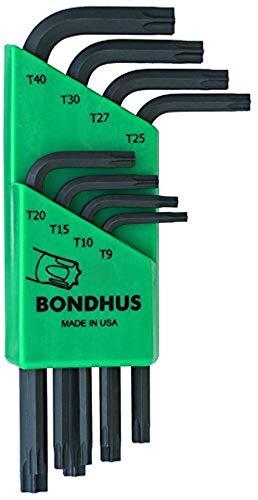 Bondhus 31734 Juego de llaves, Verde