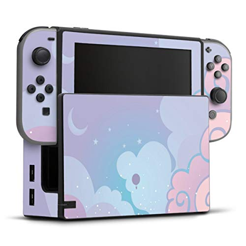 DeinDesign Skin kompatibel mit Nintendo Switch Folie Sticker Kinder Girl Style Himmel
