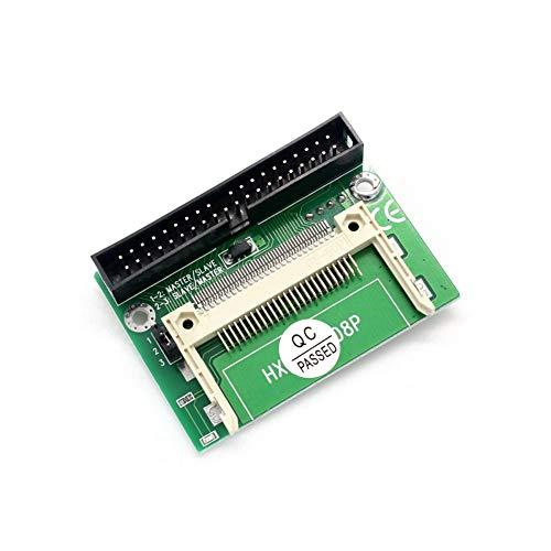 hudiemm0B CF to IDE Adapter, Pro 5V CF Compact Flash to 40 Pin 3.5Inch IDE Bootable HD Converter Adapter(No CF Card)