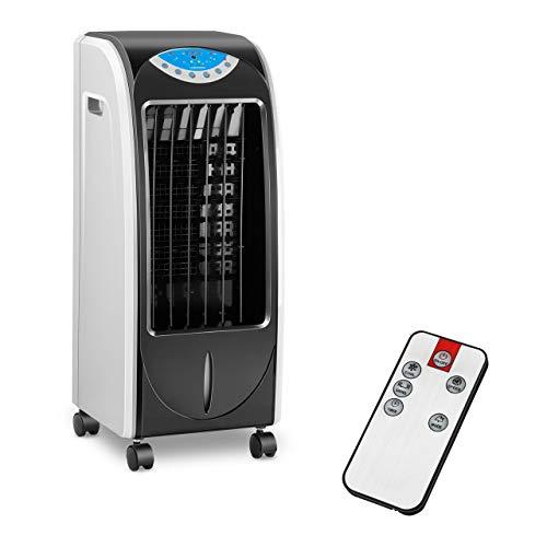 Uniprodo Uni_Cooler_02 Luftkühler mit Wasserkühlung 3-in-1 mobiles Kühlgerät ohne Abluftschlauch 6 l Luftbefeuchter Lufterfrischer