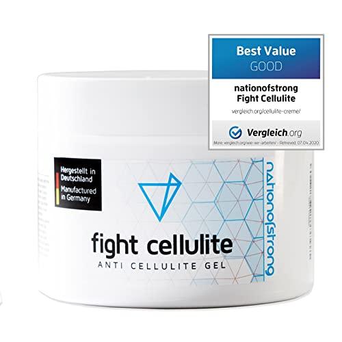 Fight Cellulite Crema Anticellulite Professionale Termoattiva Effetto Caldo (225ml), Crema...