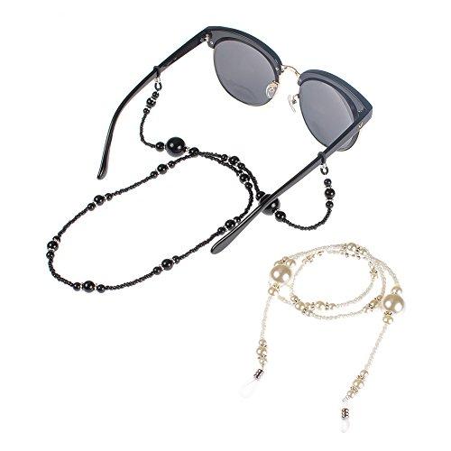 Soleebee Soleebee 68 cm Mode Universal Brillen Ketten Schnur Acryl Perlen Brillenhalter kette Brillenband/Brillenkette/Brillen Cord/Sonnenbrille kette Hals Lanyard/Brillenhalter Hals Cord Strap