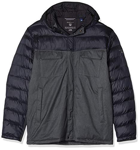 GANT Herren Velocity Jacket Jacke, Grau (Antracit Melange), X-Large