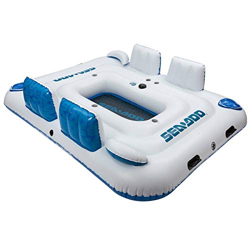 Sea-Doo Six-Person Inflatable Island with Speaker
