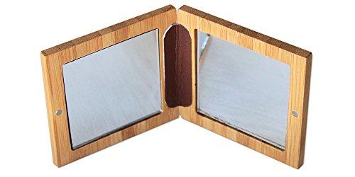 ZAO Bambus-Spiegel / Kompaktspiegel / Doppelspiegel