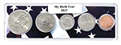 Uncirculated Coins Contains half dollar, quarter, dime, nickel and cent. Year as indicated in the title. Makes a great gift.