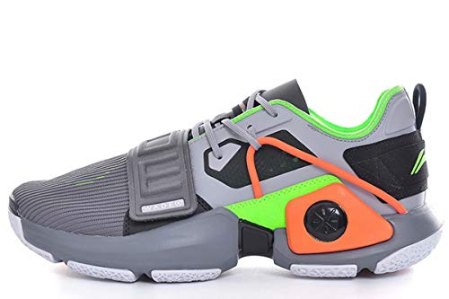 LI-NING Wade WOWTR Training Basketball Shoes for Mens Lining Courtside Sport Shoes Male Sneakers Dark Grey ABBQ003-3M US 10.5