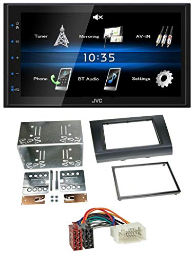 caraudio24 JVC KW-M24BT 2DIN Bluetooth MP3 AUX USB Autoradio für Suzuki Swift (2005-2010)