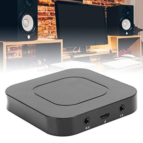 Jinyi Transmisor Receptor de Audio Bluetooth, Adaptador de Audio inalámbrico Bluetooth, Bluetooth 5.0 de 3,5 mm para Todos los Dispositivos de Audio Bluetooth Auriculares, teléfonos