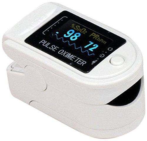 Contec CMS 50-dl Pulsoximeter, des Fingerspitzen weiß