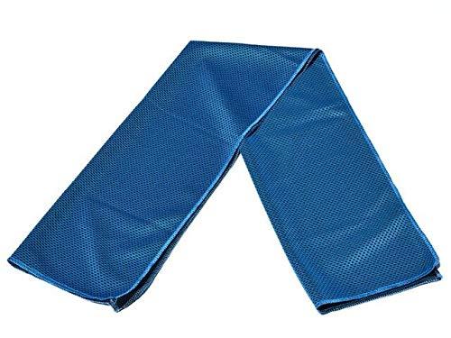 IAMZHL Yoga Fitness Toalla Deportiva Fast Sense Cold Toalla de Hielo de Secado rápido portátil Toalla Deportiva de natación al Aire Libre 82 × 30cm-Blue3-82 X 30cm
