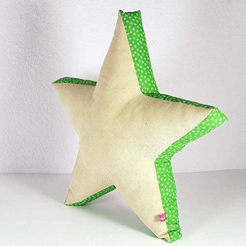 Buchstabenkissen Kissenbuchstabe Dekoration Stern Buchstabensalat