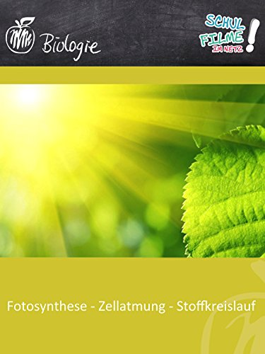 Fotosynthese - Schulfilm Biologie