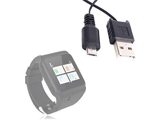 DURAGADGET Cable MicroUSB Retráctil para Reloj Empath inalámbricos Multifunción