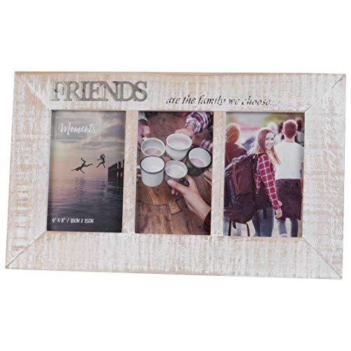 Houten 'Moments' Triple 6'x4' fotolijst - Friends