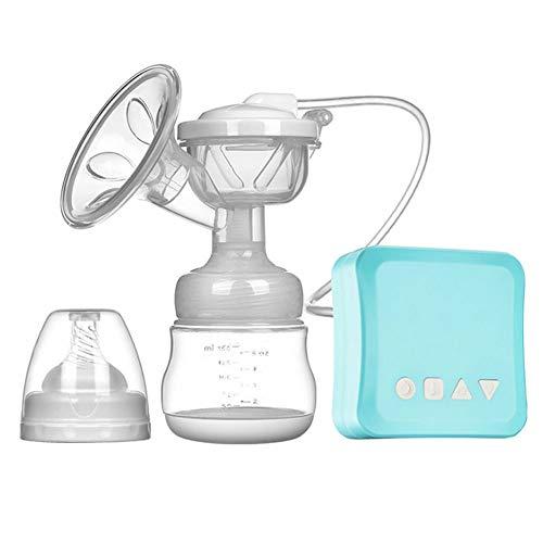 Sacaleches Bomba de lactancia eléctrica, bombas automáticas de lactancia Luz de noche de bajo ruido LCD Fácil de instalar