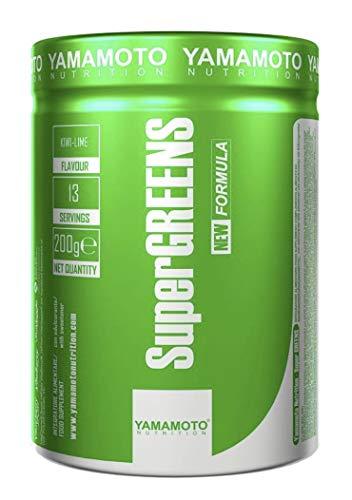 Yamamoto Nutrition Super Greens, Kiwi Lime, 285 g