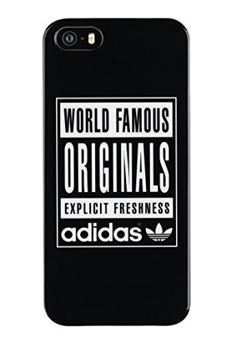 adidas Originals TPU Hülle World Famous iPhone 5/5s schwarz