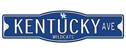 NCAA Kentucky Wildcats 4' x 17' Street Sign