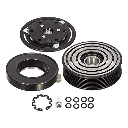 AUTEX AC Compressor Clutch Coil Assembly Kit Compatible with F-150 F-250 F-350 F-450 F-550 Labo Replacement for Blackwood Air Conditioning Repair Kit Clutch Coil