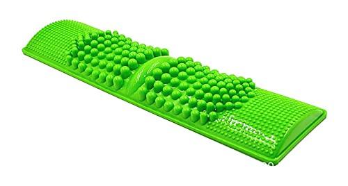 LIXBD Fußmassagematte Fußmassagegerät Kunststoff Kieselstein Zehen Druckplatte Massage Pad (zufällige Farbe) (Farbe: wie abgebildet)