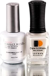 LECHAT Perfect Match Gel Polish + Matching Lacquer - (#35 MARSHMALLOW GIN)