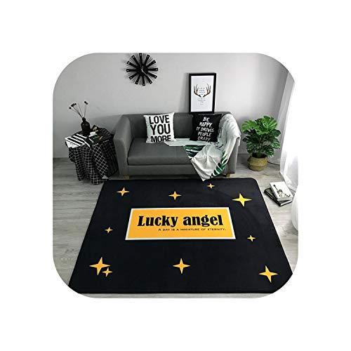 Area Rug Indoor |Nordic Teppiche Weiche Flanell 3D-Bedruckte Teppiche Salon Marmor Muster Matte Teppiche Anti-Rutsch-Großteppich Teppich für Wohnzimmer Dekor-Nr-04-150x190cm