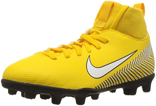 Nike Neymar Jr. Superfly 6 Club MG, Zapatillas de Fútbol Unisex Niños, Multicolor (Amarillo/White-Black-Black 710), 38 EU