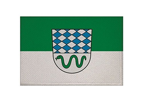 U24 Aufnäher Oftersheim Fahne Flagge Aufbügler Patch 9 x 6 cm