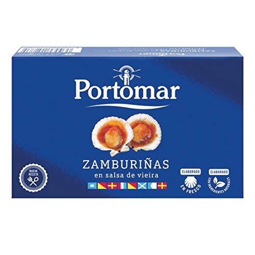 "Capesante in salsa di Vieira ""Zamburinas"" 115g/60g - PortoMaR"