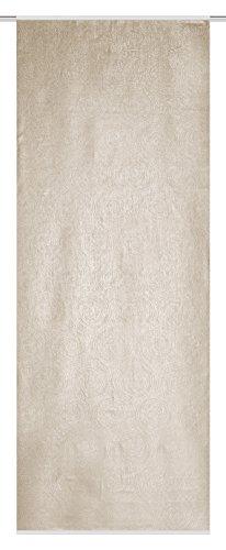 Home Fashion 083585–1801245x 90cm Biombo, plástico, Beige, 245x 90cm