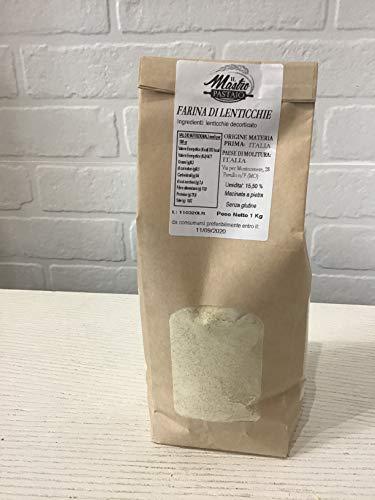 Farina di Lenticchie - Senza glutine - 1 confezione da 1kg