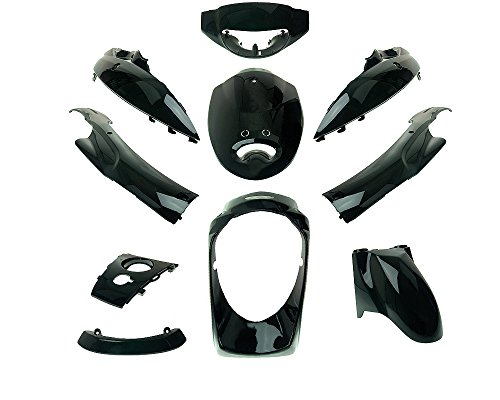 Verkleidungskit schwarz 10teilig für ZNEN ZN50QT-11