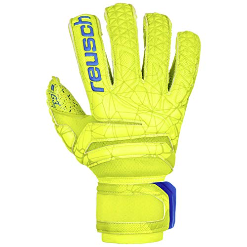 Reusch Fit Control G3 Fusion Evolution Finger Support Torwarthandschuh, Lime/Safety Yellow/Lime, 12