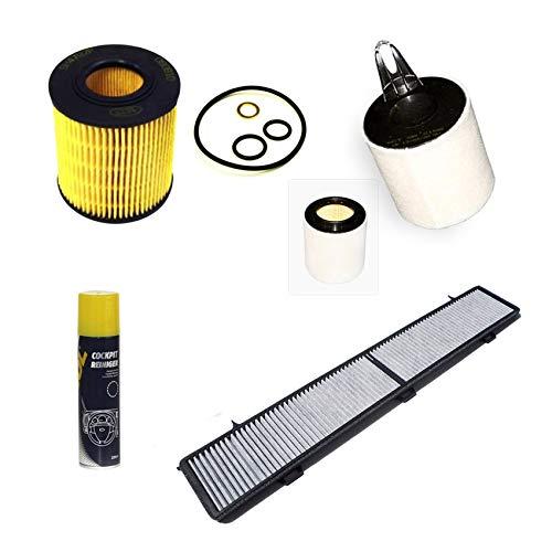 Inspektionspaket Filteristen Aktivkohlefilter SCT Luftfilter Ölfilter Geschenk