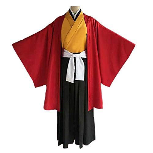 YYFS Juego Anime Cosplay Disfraces, Uniformes de Kimono, Disfraces de Fiesta de Halloween, un Conjunto Completo de Disfraces de Hombres,Men's Suits-X-Large
