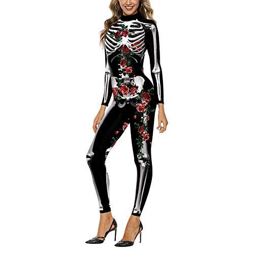 JYKING Halloween Overall Adult Street Kostüm Overall Weiblicher Geist des Kleidet Erwachsenes Stadiumskostüm WB142-005 M
