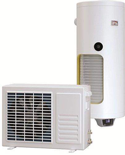 Set combinato di scaldabagno verticale, 120 litri, con pompa di calore