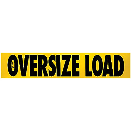 SafeTruck by Ms. Carita Oversize Load Decal 12 Inch x 60 Inch