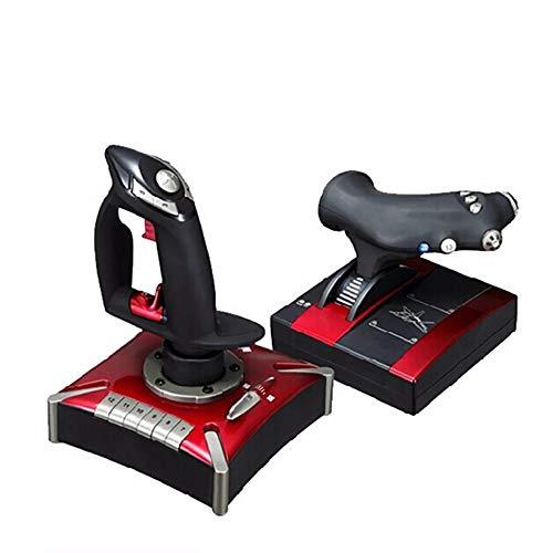 Zks Juegos Stick, USB Simulación De Vuelo Juegos Palillo De...
