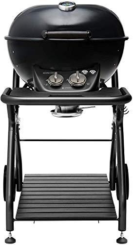 Barbecue sferico in acciaio, grill da Giardino Esterno OUTDOORCHEF modello CHELSEA 420 E, funziona a gas