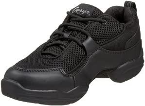 Capezio Fierce DS11C Dance Sneaker (Little Kid/Big Kid),Black,2 M US Little Kid