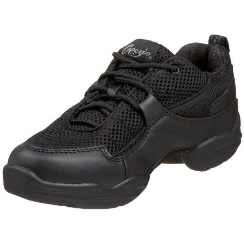 Capezio Fierce DS11C Dance Sneaker (Little Kid/Big Kid),Black,2 M US Little Kid