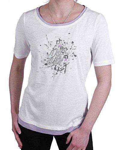 JETTE Joop Damen Shirt T-Shirt Kurzarm Weiß Gr. 38#23(38)